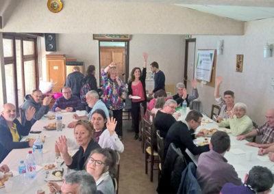 AG afa43 repas à Brioude le 31 mars 2019