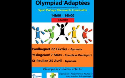 Olympiad'Adaptées